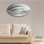 metal-sculpture-oval-wall-art