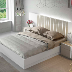 Contemporary modern ottoman storage bed in Spain