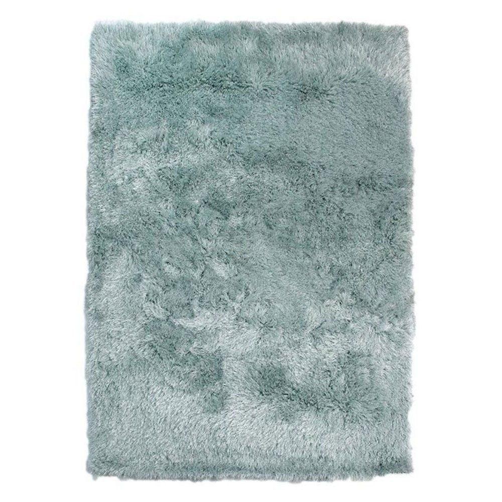 Duck Egg Teal In Shaggy Rugs, Soft
