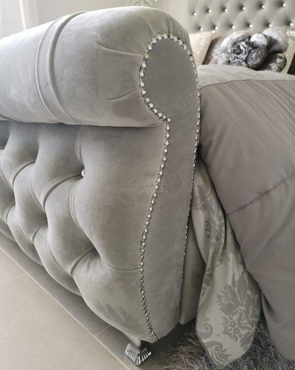 The Sotogrande Swan Upholstered Bed